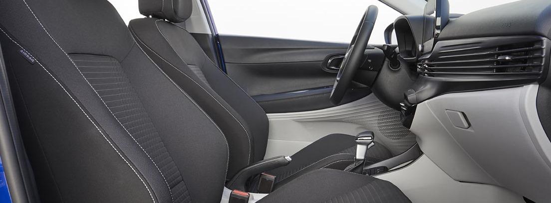 Habitáculo delantero del nuevo Hyundai i20