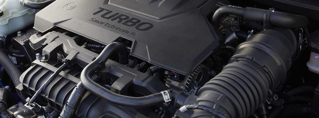 Detalle del motor del nuevo Hyundai i 20