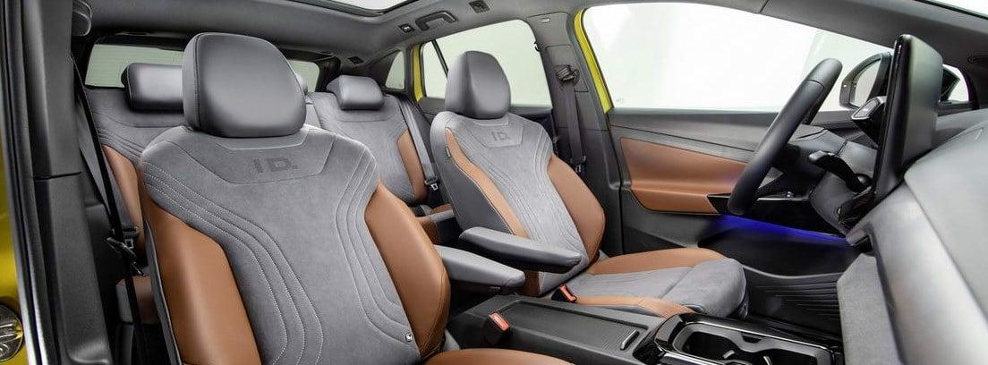 Volkswagen ID.4, un interior muy futurista