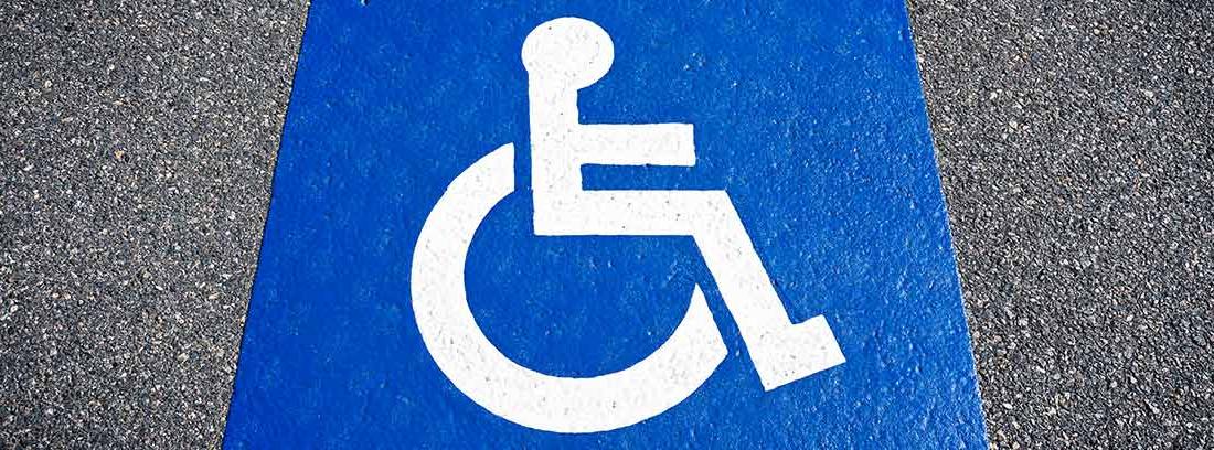 plaza aparcamiento discapacitados