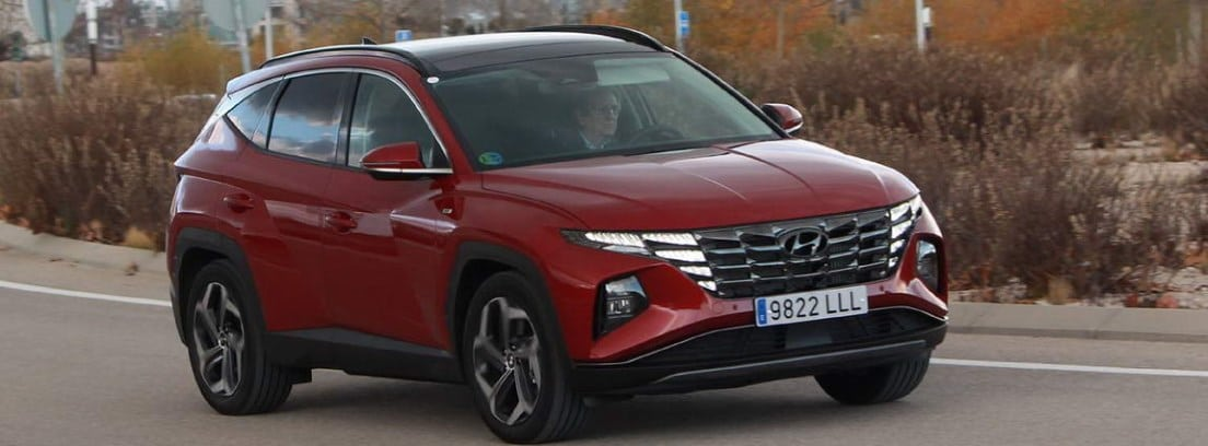 Nuevo Hyundai Tucson 2021 en circulación