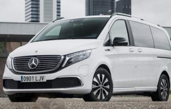 Nuevo Mercedes-Benz EQV blanco