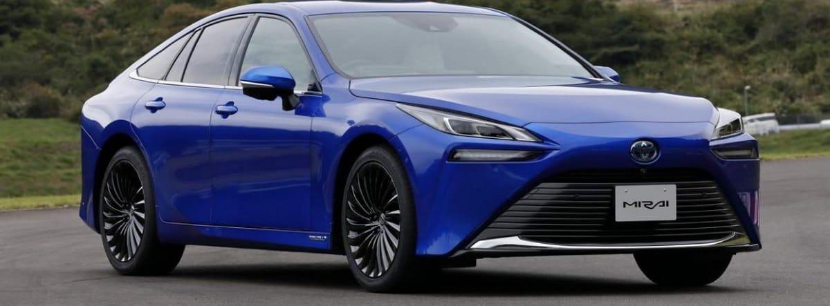 Nuevo Toyota Mirai 2021 azul