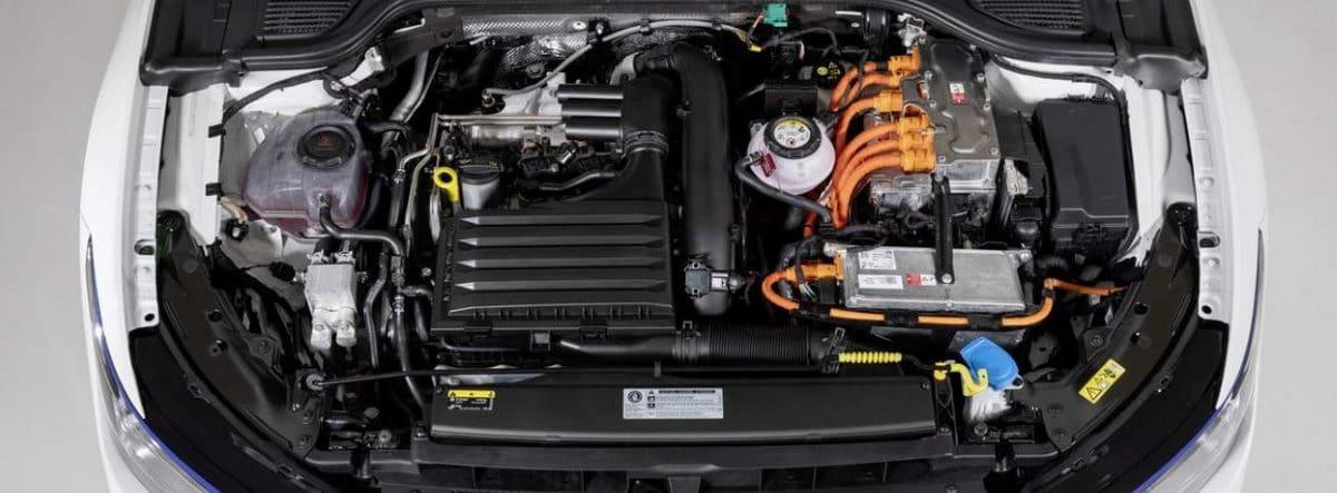 Motores y sistema de baterías del nuevo Volkswagen Golf GTE