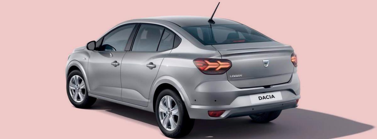 Imagen de catálogo del nuevo Dacia Logan 2021 plateado