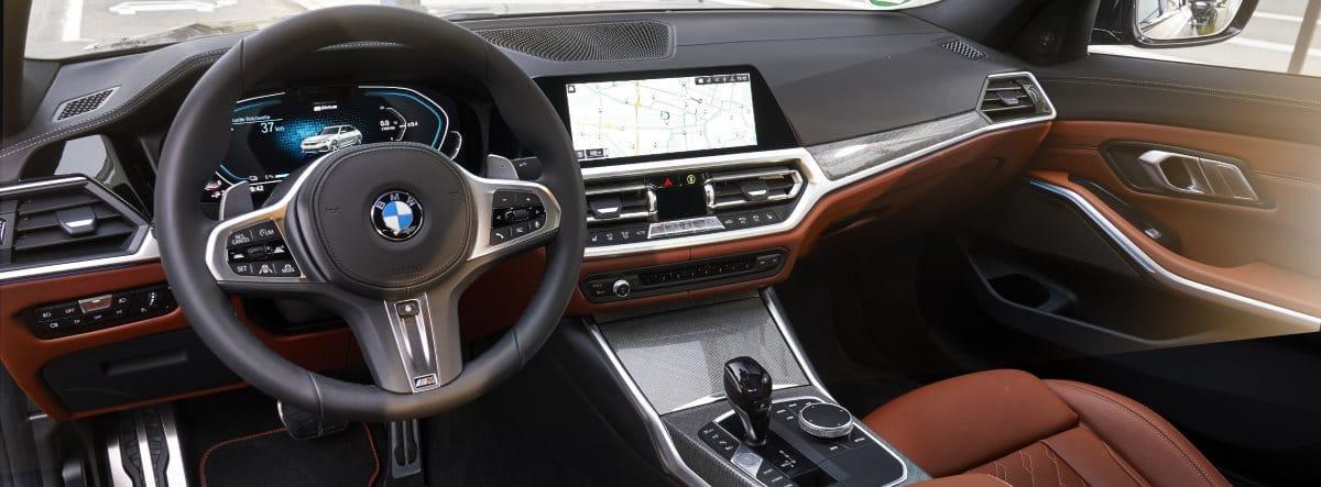 BMW 320E imagen del interior