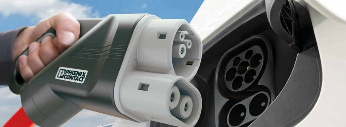 Conector de coche eléctrico