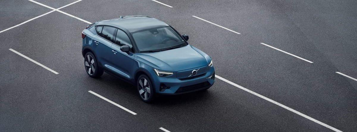 Volvo C40 Recharge en carretera