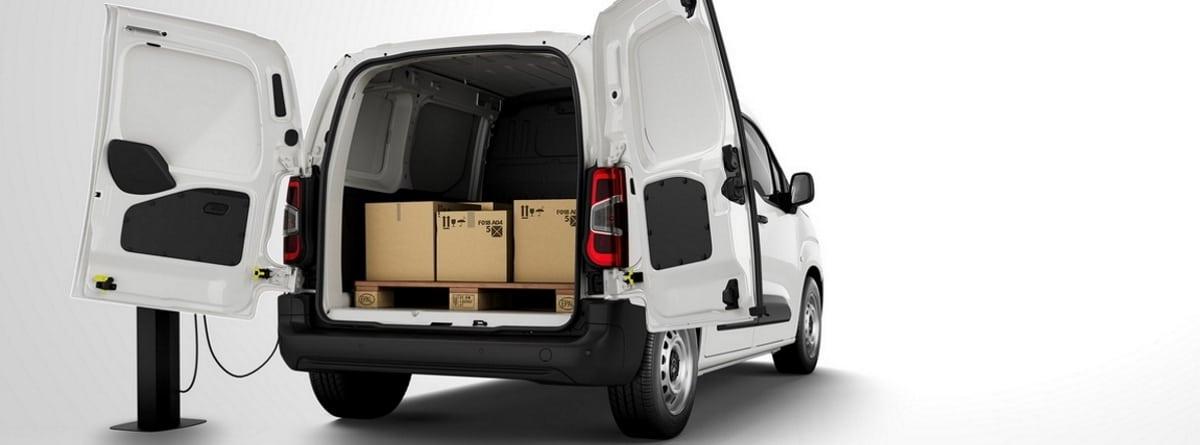 Capacidad de carga de la Citroen e-Berlingo Van