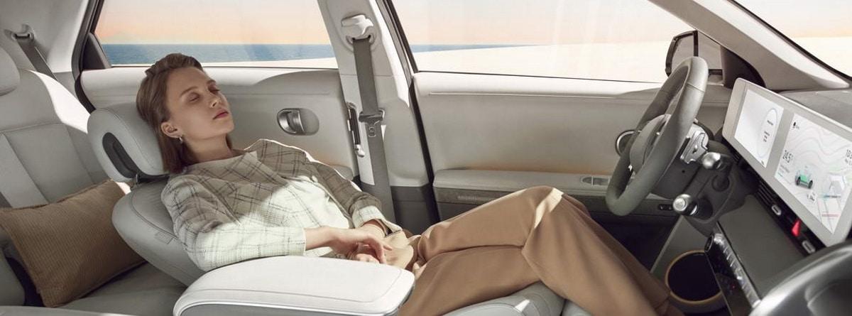 interior de futuro para el Hyundai Ioniq 5