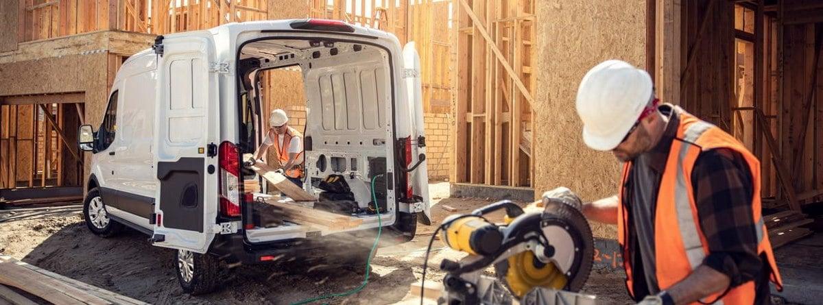 Ford e-Transit capacidad de carga