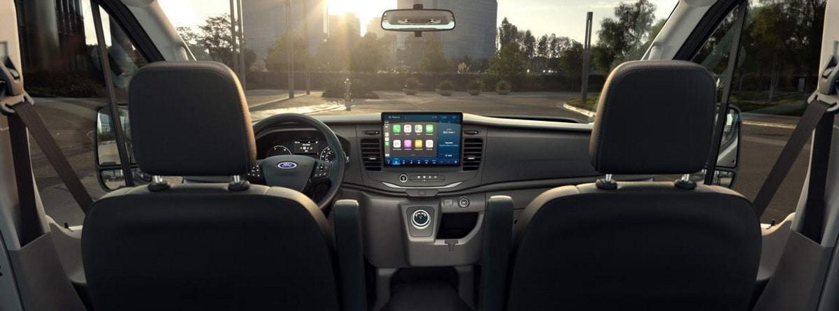 Ford e-Transit interior