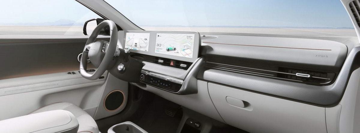 Interior del Hyundai Ioniq 5