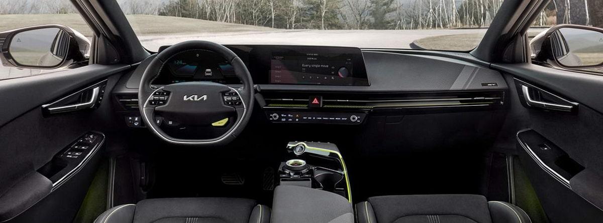 Interior de Kia EV6 GT