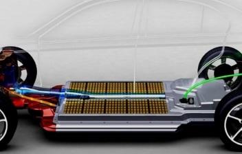 Infografia sobre el funcionamiento de un coche electrico