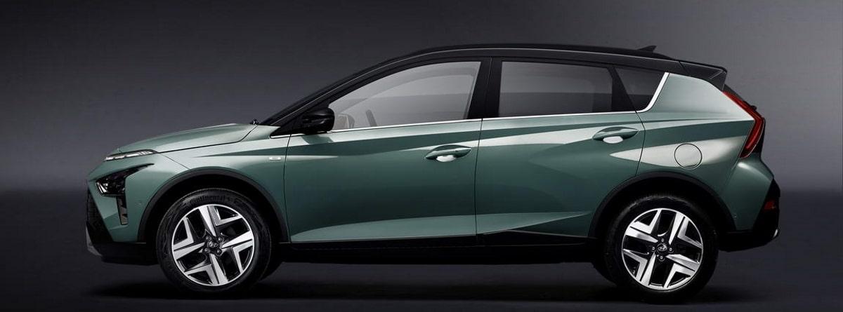 Hyundai Bayon 2021 verde