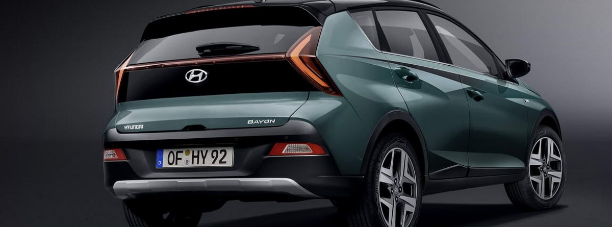 Hyundai Bayon trasera