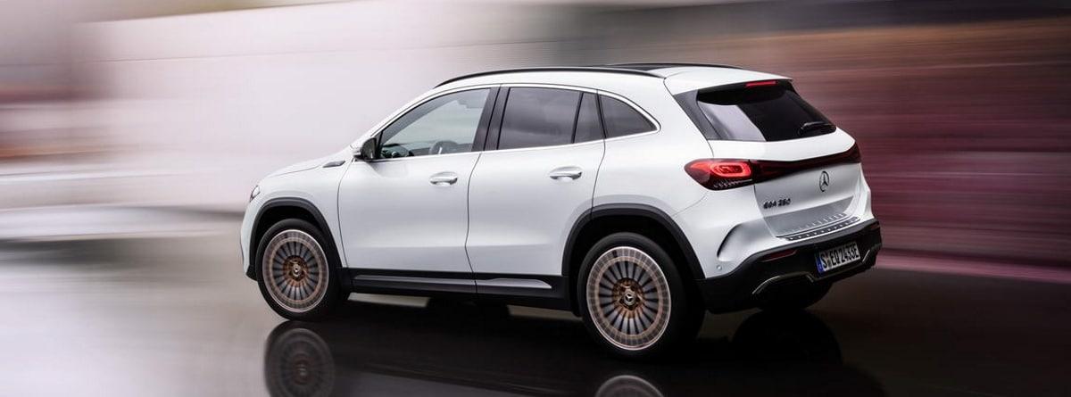 Mercedes EQA blanco
