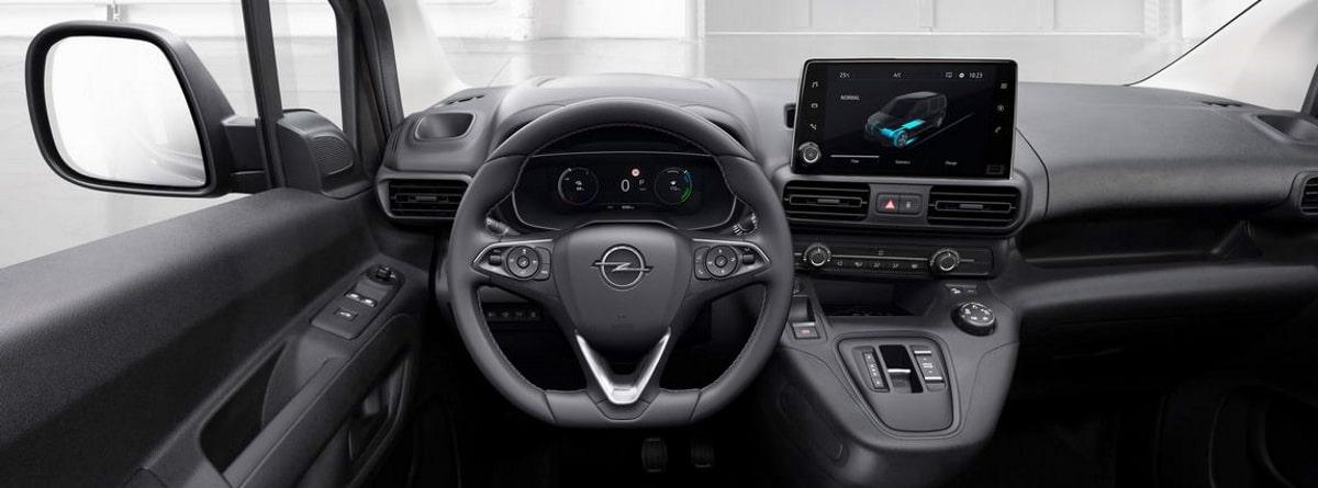 Opel Combo-e Cargo_vista interior