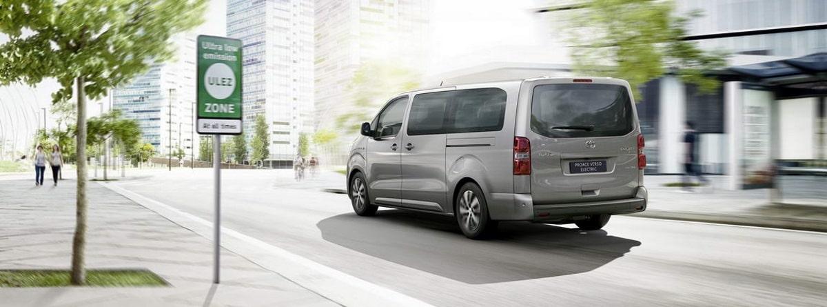 Toyota Proace Verso Electrico en ciudad