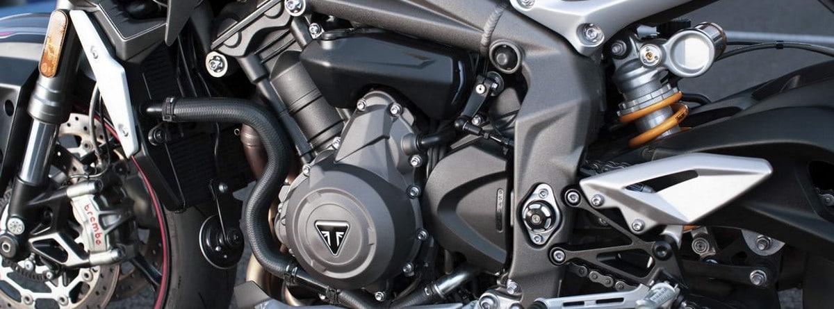 motor de la Triumph Street Triple RS