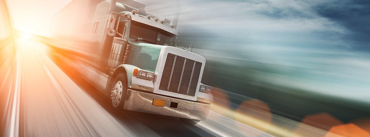 Camión en autopista