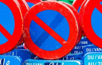 Señales de prohibido aparcar