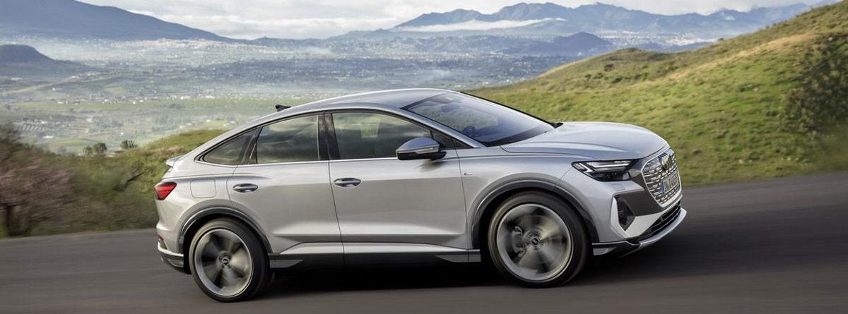 Audi Q4 e-tron color Florett silver