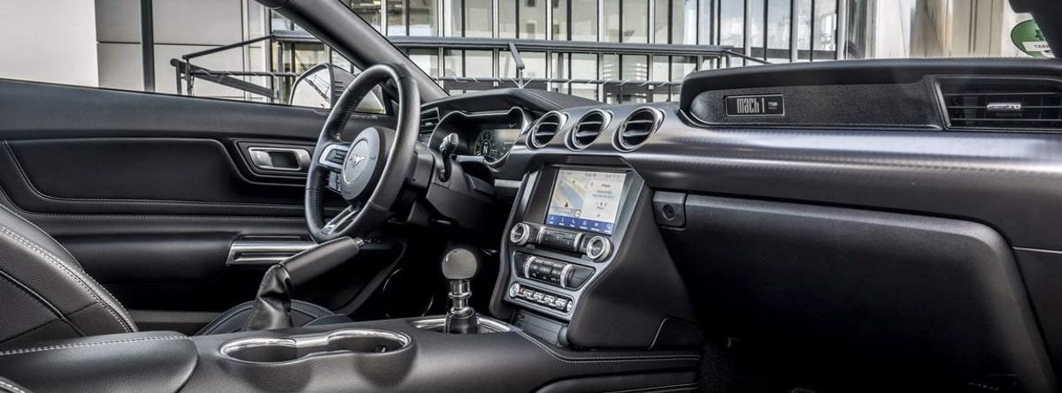 Detalle del interior Mustang Mach 1