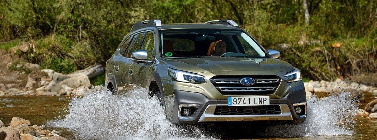 Nuevo Subaru Outback en riachuelo