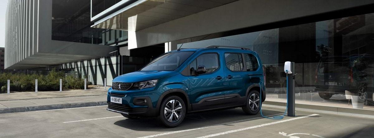 Peugeot e-Rifter azul