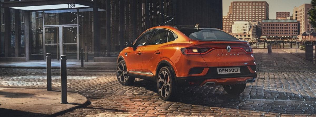 Renault Arkana 2021 vista trasera