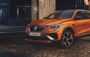 Renault Arkana naranja