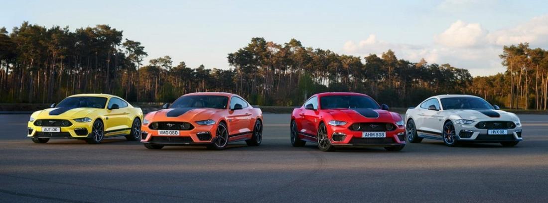 varios Mustang Mach