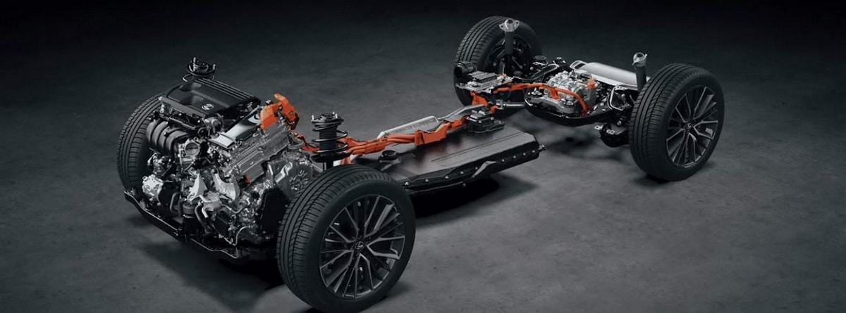 Visión por dentro de la mecánica del Lexus NX 2022