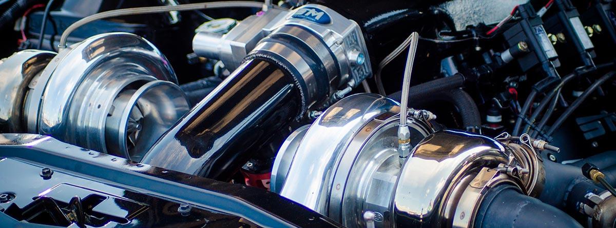 Turbo de un motor