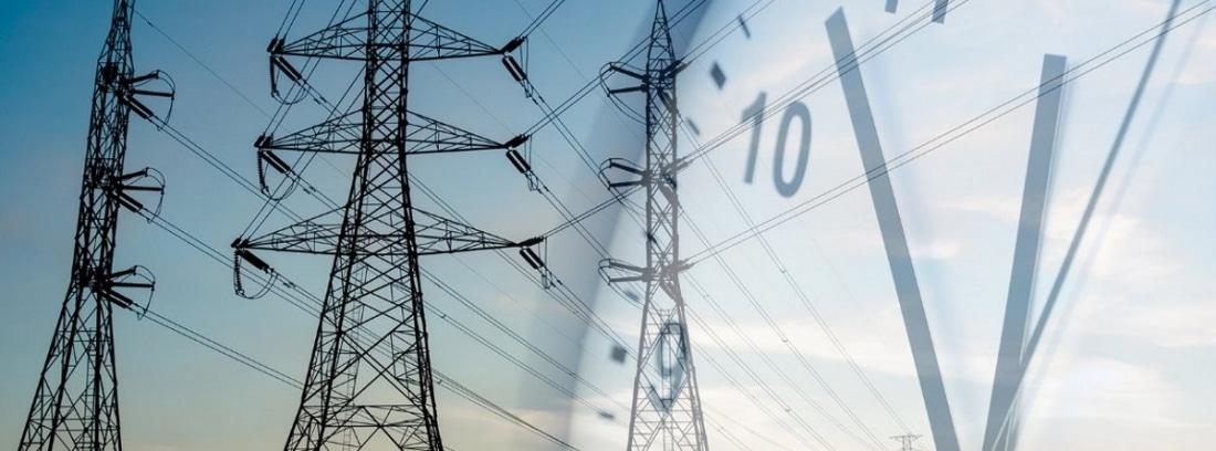 postes eléctricos y reloj, como afecta la nueva tarifa eléctrica